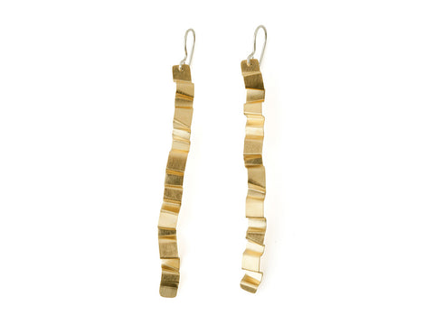 Valentina Falchi Tagliatella Earrings Gold 1