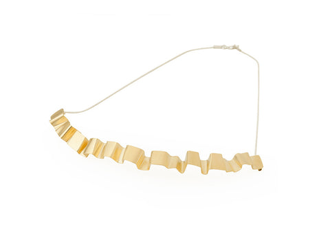 Valentina Falchi Tagliatella Necklace Gold 1