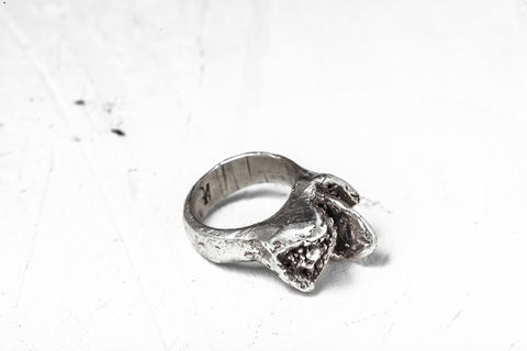 Xenophora Chrysanthemum Silver Ring 1