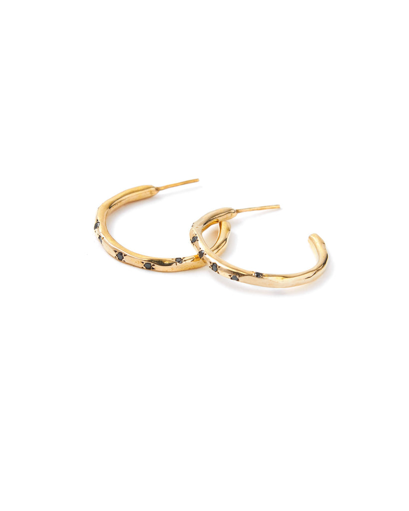 Dea Rail Atlantis Golden Earrings 1