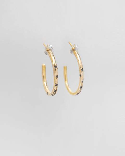 Dea Rail Atlantis Golden Earrings 2