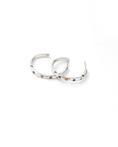 Dea Rail Atlantis Silver Earrings 2