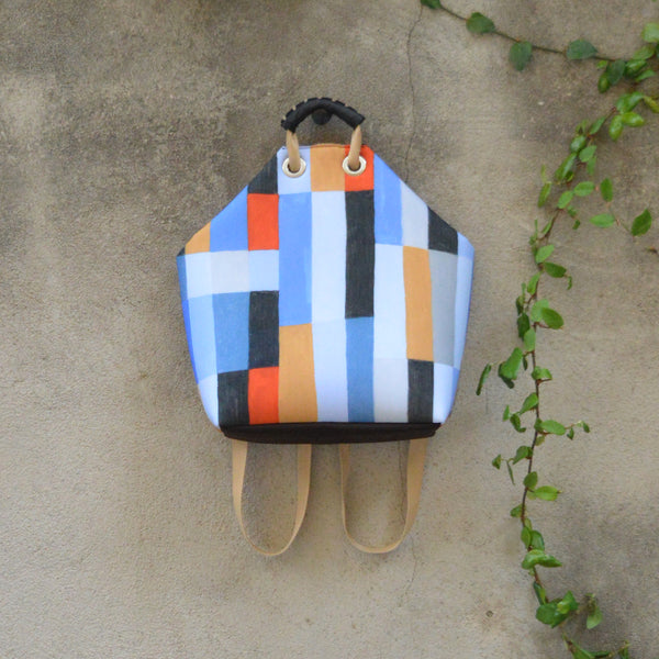 Caterinaeffe x Beatrice Cerocchi Abstract Backpack 1