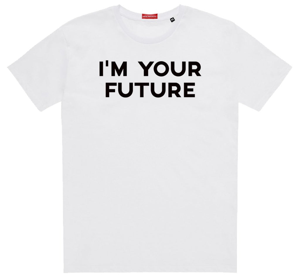 Frito Projects Im Your Future White T-Shirt 1