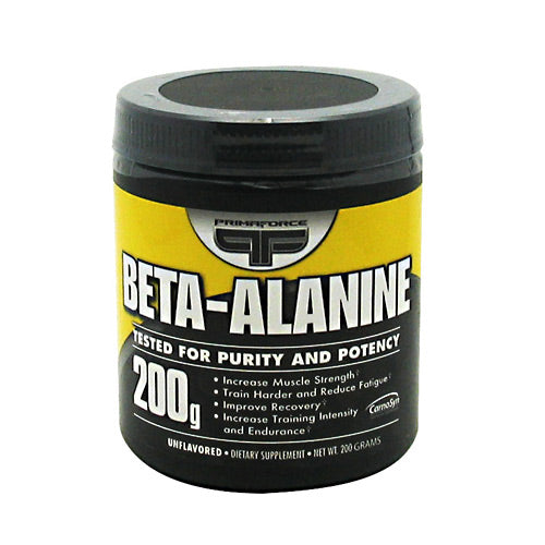 Primaforce Beta-Alanine - 200 g - 100 Servings - 811445020061