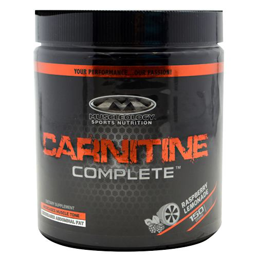 Muscleology Carnitine Complete - Raspberry Lemonade - 25 Servings - 829263132279