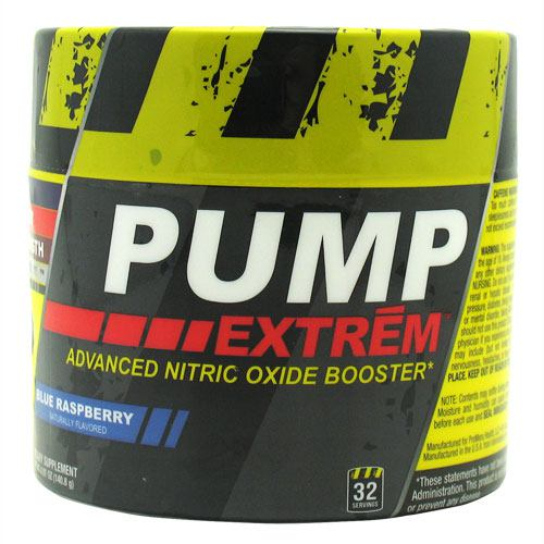 ProMera Sports Pump Extreme - Blue Raspberry - 32 Servings - 682676752324