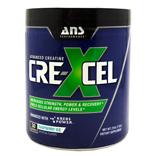 ANS Performance Crexcel - Raspberry Ice - 30 Servings - 638037635805