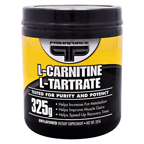 Primaforce L-Carnitine L-Tartrate - 325 g - 811445020245