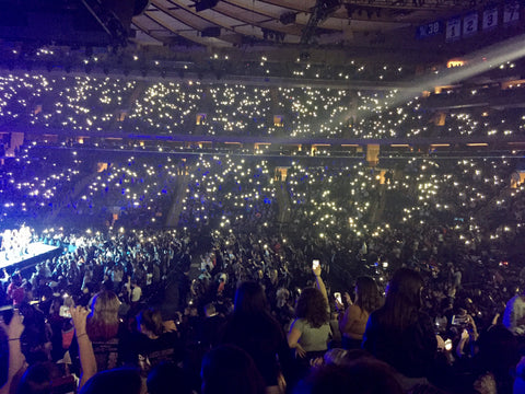 Good Yes We Were There At The Concert Last Thursday Night At Madison Square  Garden. One Of My Daughters, Mia, Has Been Absolutely Obsessed With Ariana  Grande For ... Images