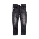 Denim Black Wash Knit Jegging - Kamari Kids