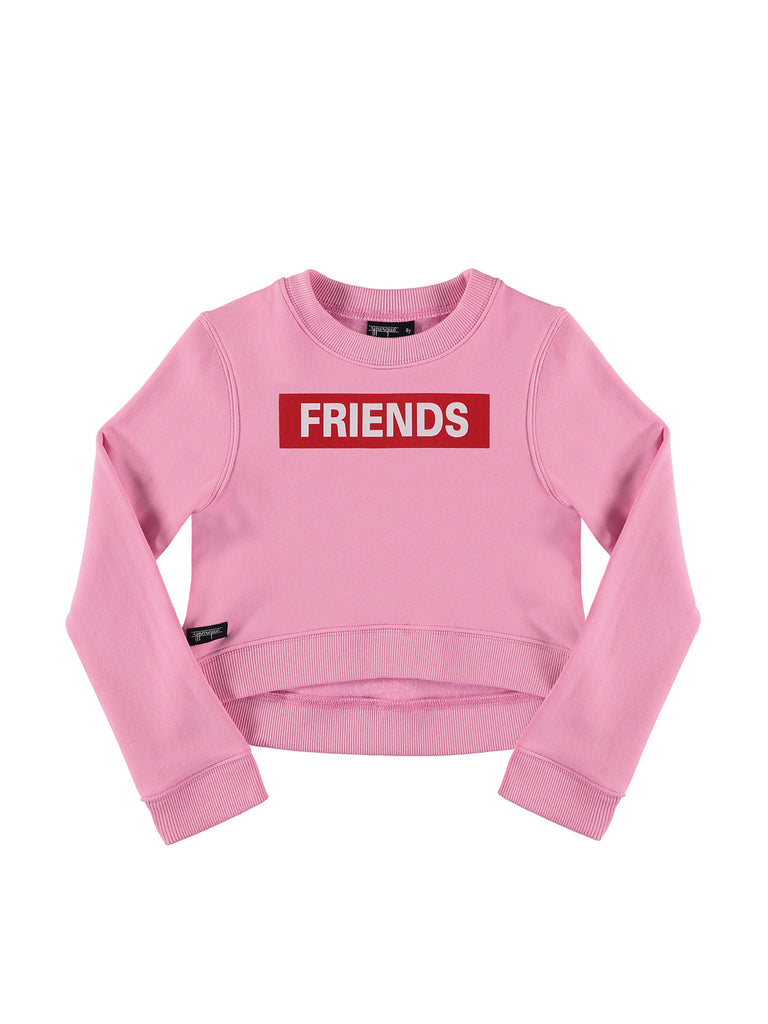 BFF Crop Sweatshirt