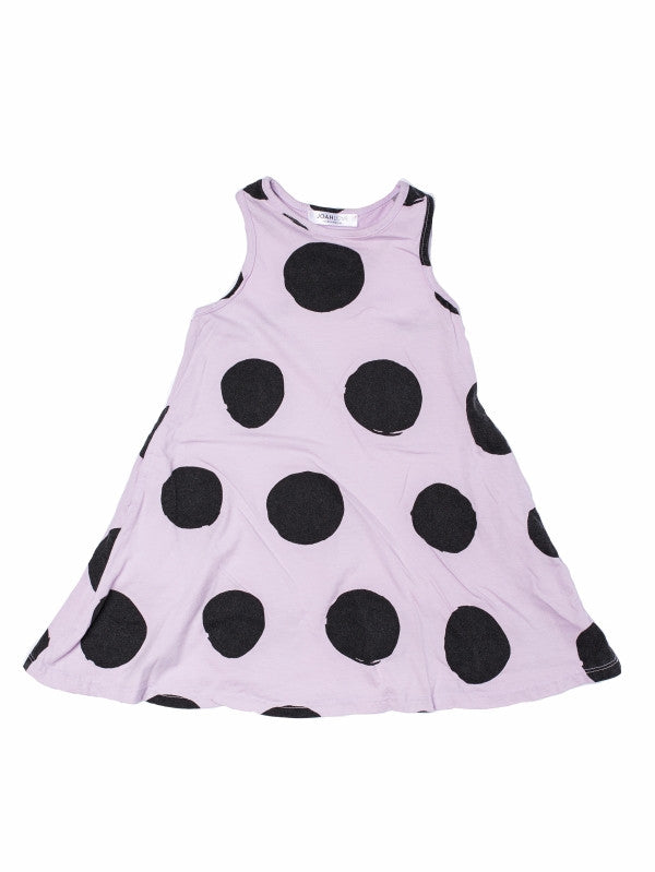 Dior Black Dot Print Dress
