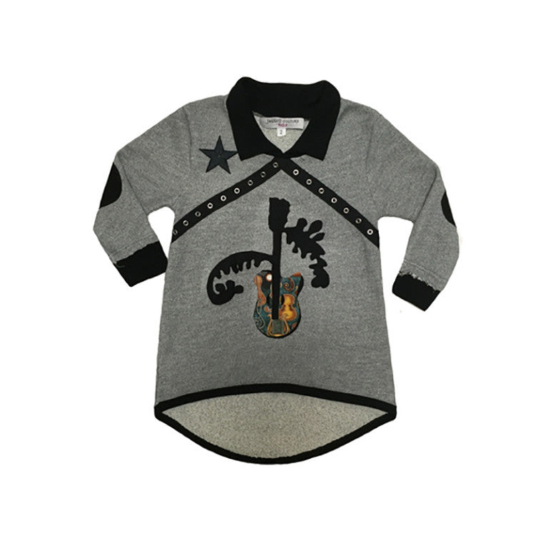 Guitar Raglan Dress - Kamari Kids