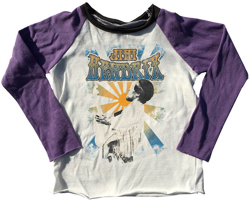 Jimmy Hendrix Girls Raglan Tee
