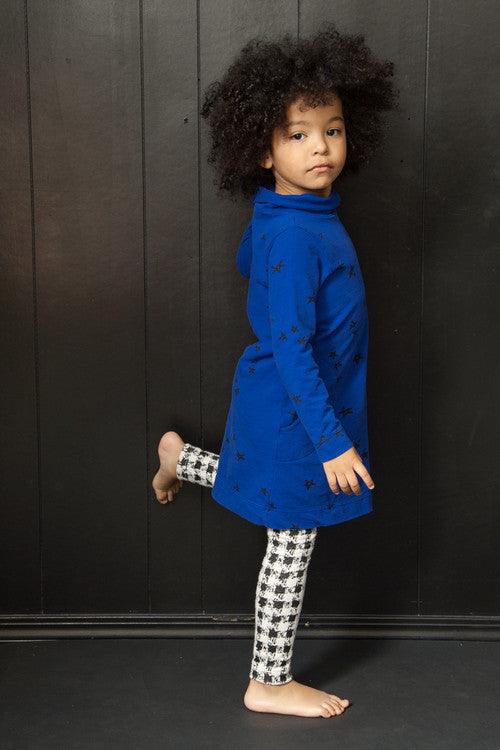 Miriam Draped Neck Dress - Kamari Kids