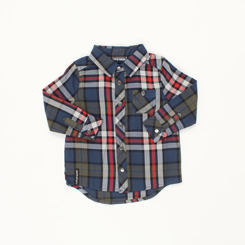 Flannel Shirt - Red