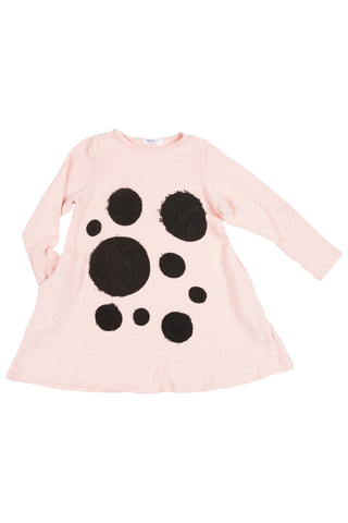 Shauna Black Dot Print Top