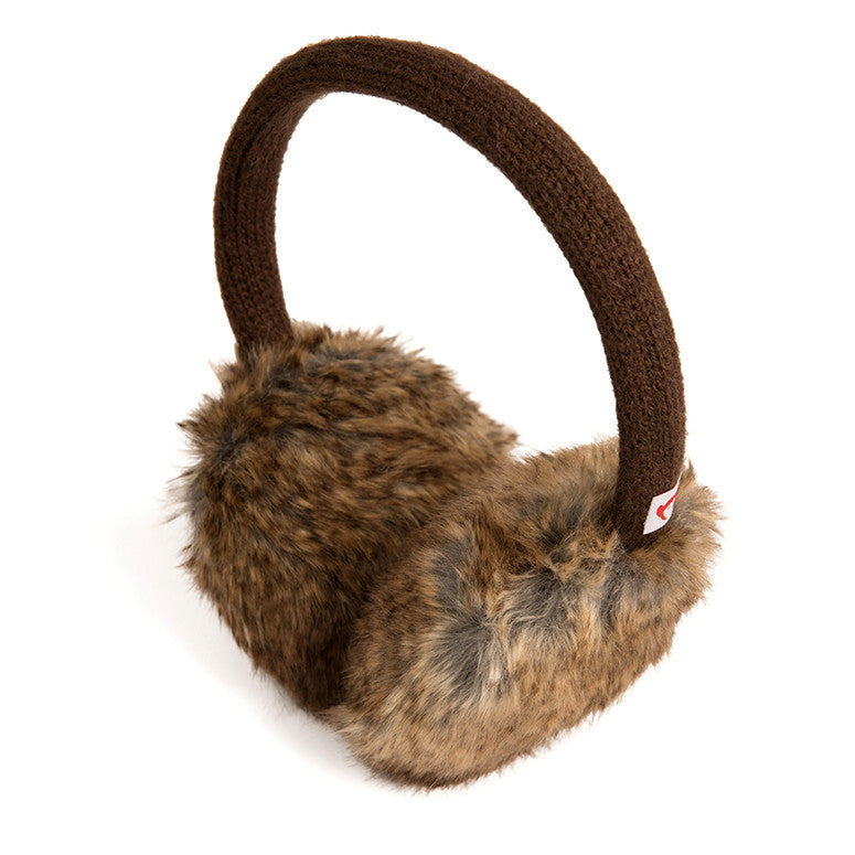 Earmuffs in Natural Brown