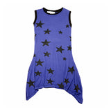 Big n Little Star Dress Sleeveless - Kamari Kids