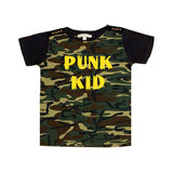 Punk Kid Camo Tee - Kamari Kids
