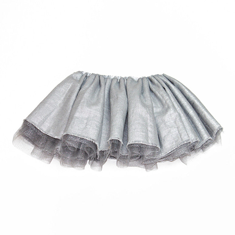 Leighton Specialty Tutu in Silver - Kamari Kids