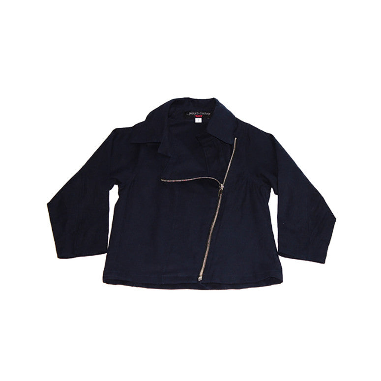 Cow Skeleton Linen Jacket - Kamari Kids