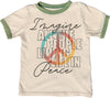 Imagine Short Sleeve Ringer Tee