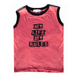 My Life My Rules Tank - Kamari Kids