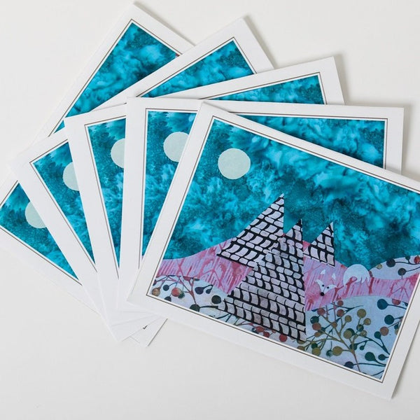 Notecards - Batik Mosaic