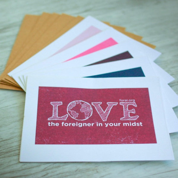 Notecards - Love - Forai