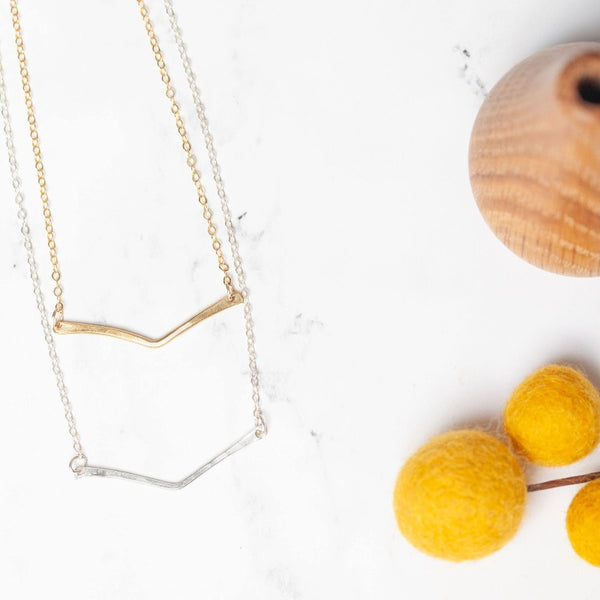 Esther Necklace in Gold or Silver
