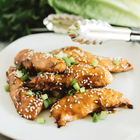 Honey soy chicken tenders