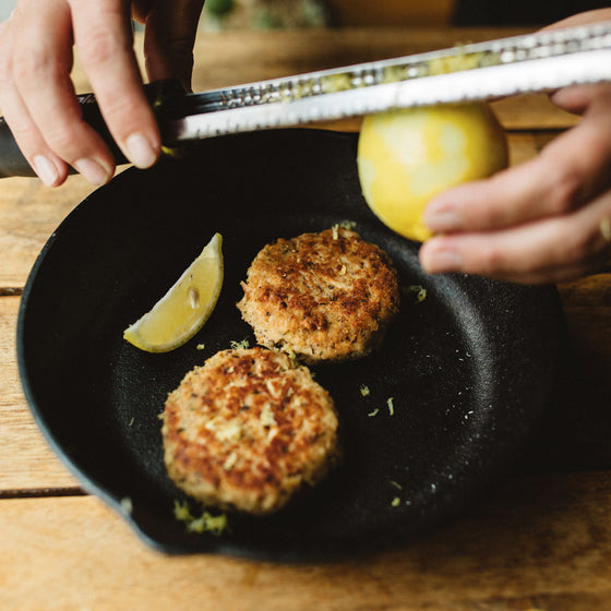 Albacore tuna patties