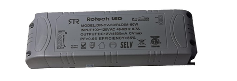 RLDIM-60W Alimentation directe dimmable