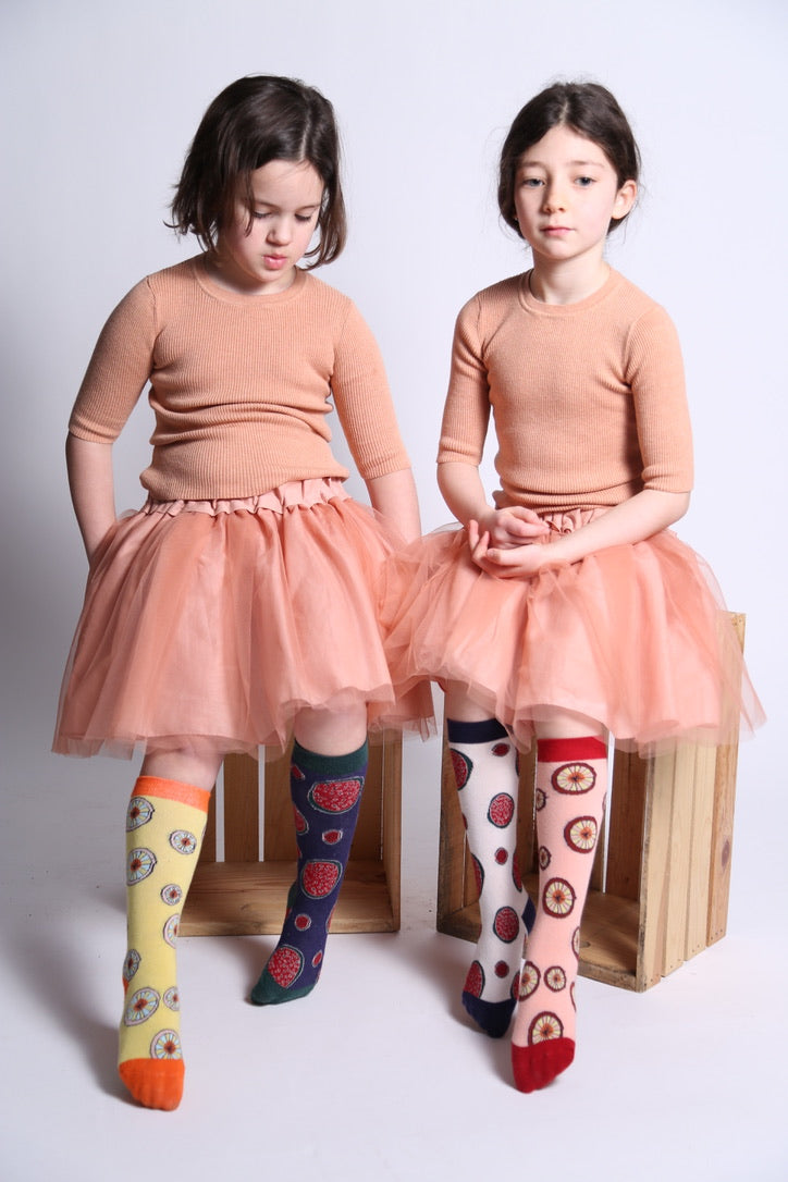 Citrus Knee Socks