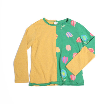Long Sleeve Matyo Patchwork Tee