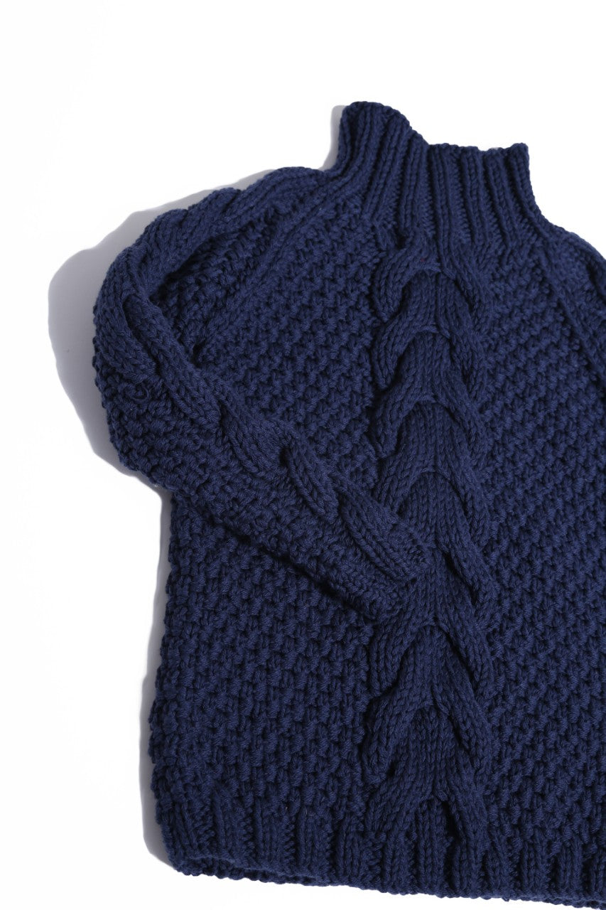 Lancaster Cabled Turtleneck