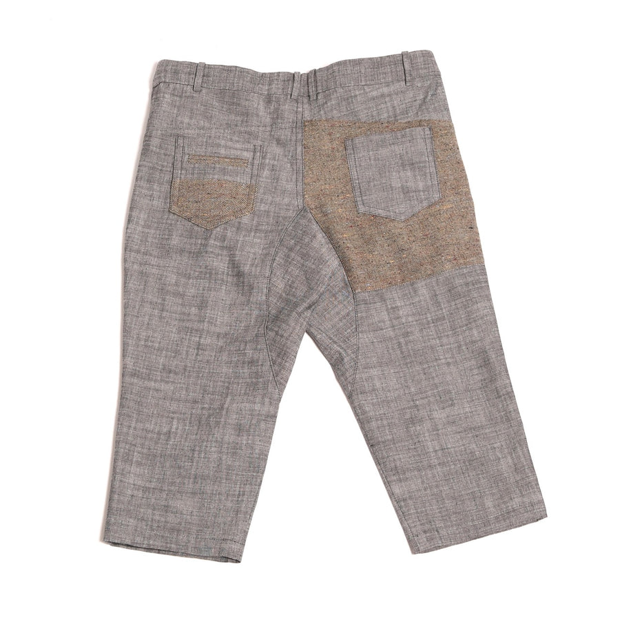 Slouch Fit Patchwork Trouser