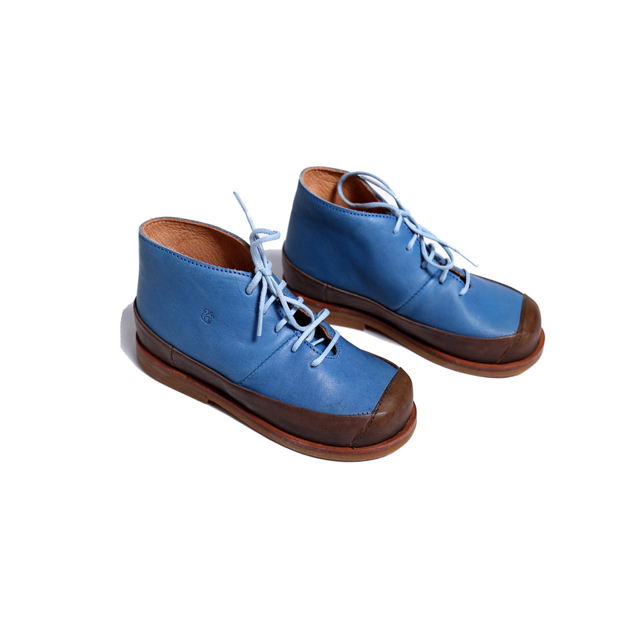 2-Tone Dries Lace-Up Shoes
