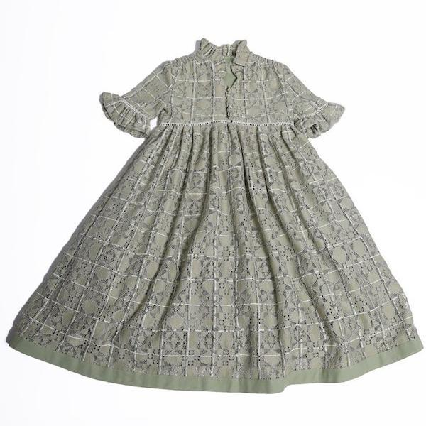 Carriage Smock Maxi