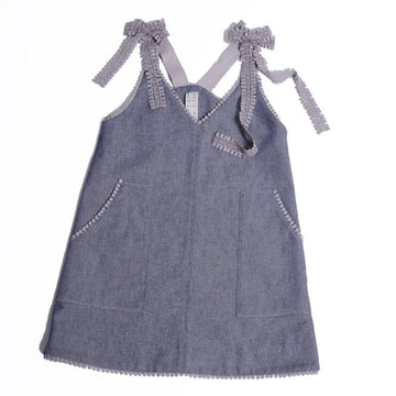 Apron Shift Dress