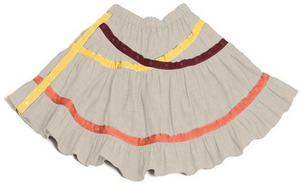 Multi Snap Criss Cross Skirt