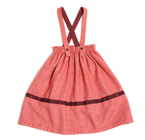 DUNGAREE CONVERTIBLE SKIRT
