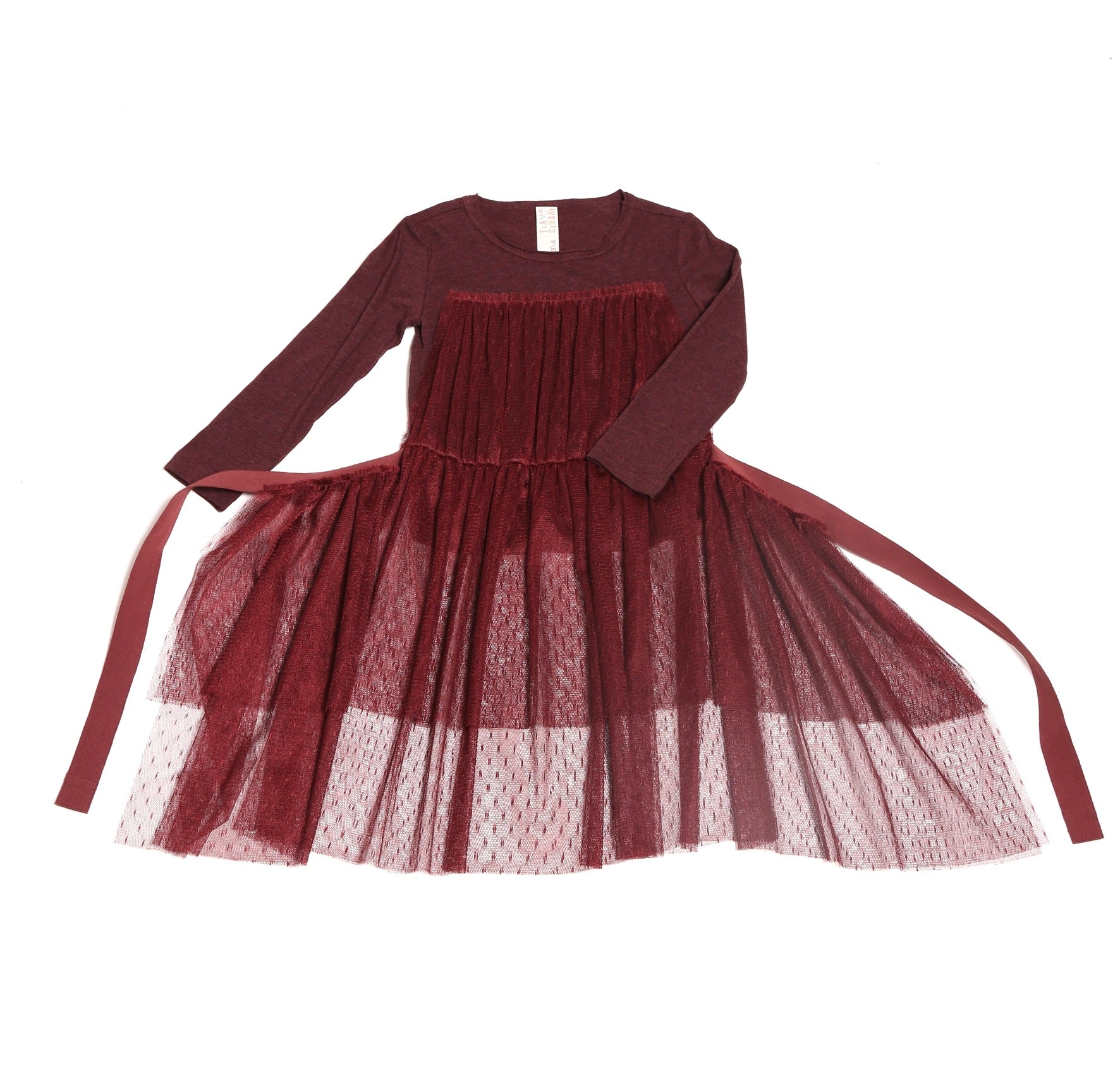 Classic Tulle Apron T-shirt