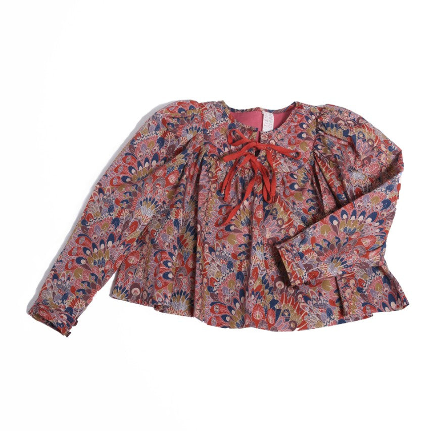 Quilted Maharani Blouse