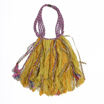 Zsofia Fringe Bib Necklace