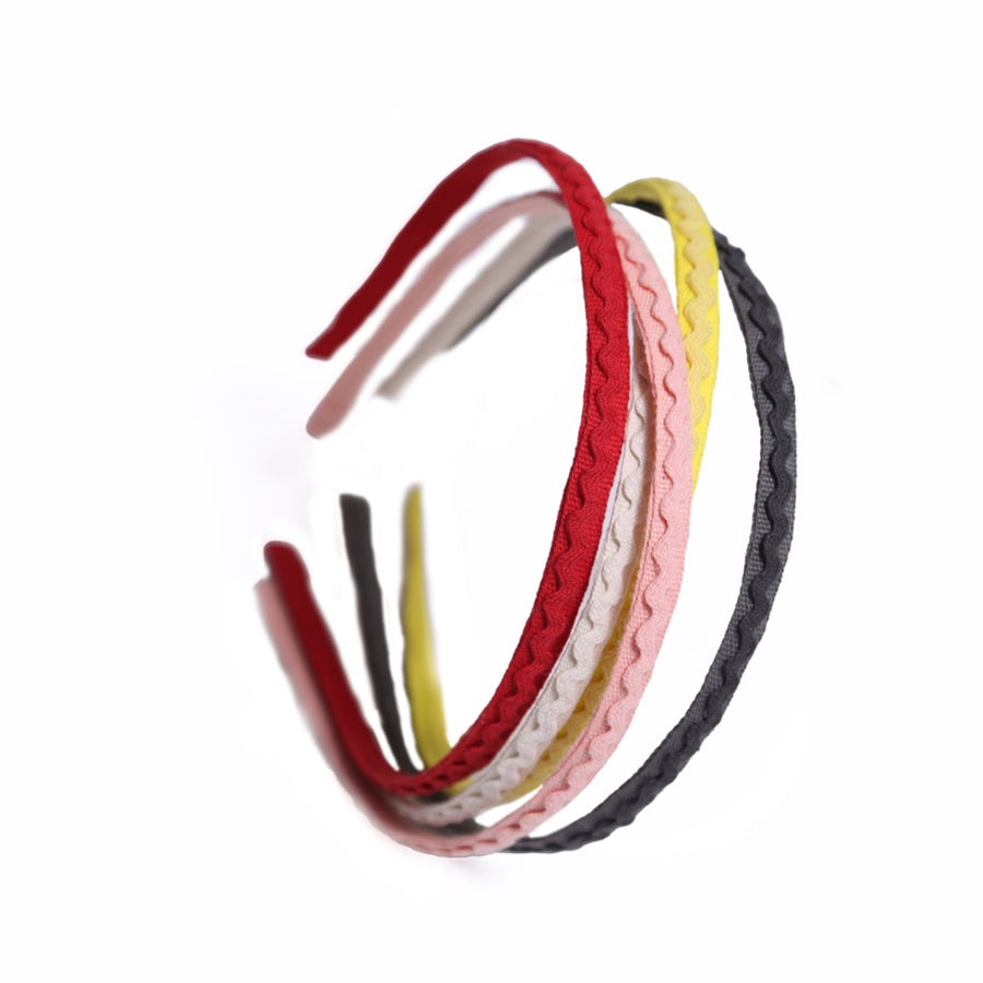 Britta Ric Rac Stackable Headbands (Set of 5)