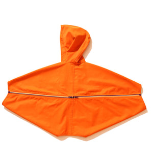 Multi Zip Hooded Poncho
