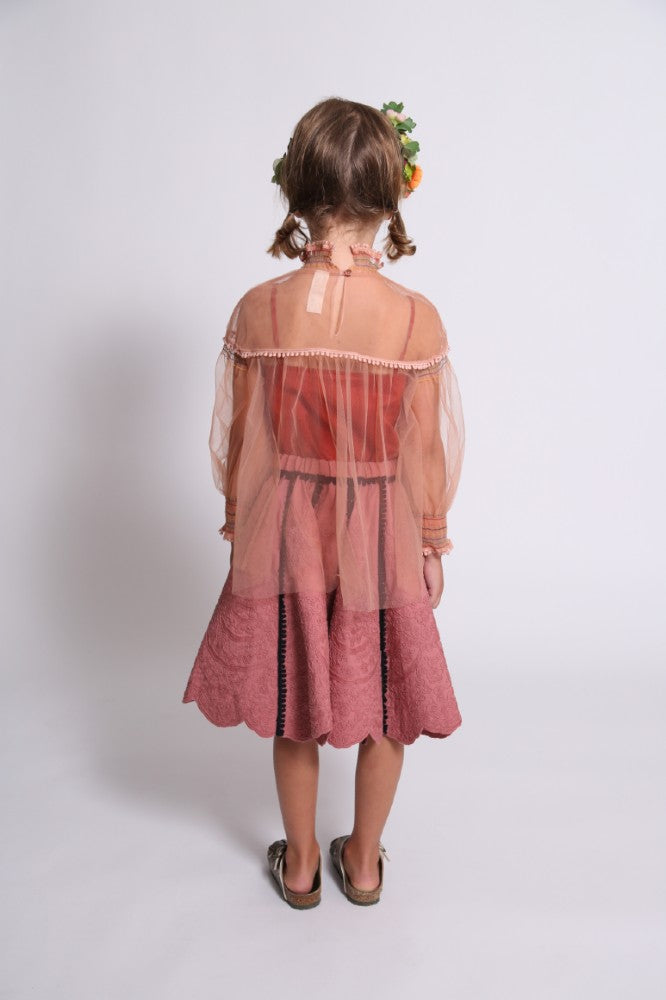 Antoinette Smocked Blouse